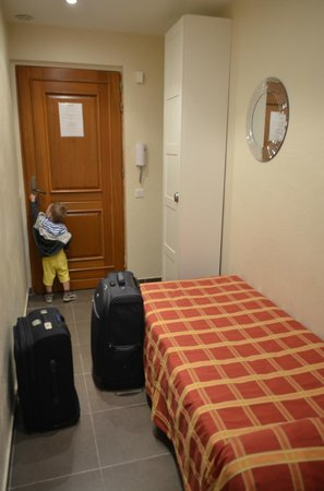 Hotel Le Florian : Прихожая