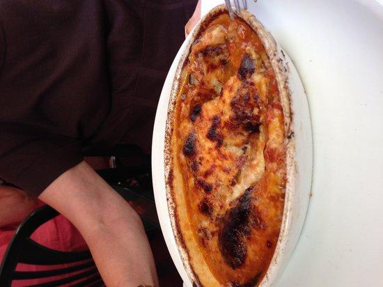Restaurant du Gésu : L'aubergine parmeggiane ( une entrée)