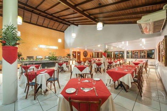 Tropical Oceano Praia: Restaurante Abrolhos - Abrolhos Restaurant