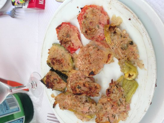 Restaurant du Gésu : Les farcis ( une entrée)