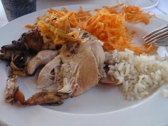 ... Jerk chicken - Picture of Grand Bahia Principe Jamaica, Runaway Bay