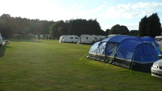 West Runton Camping and Caravanning Site: CAMPSITE FROM OUR TENT