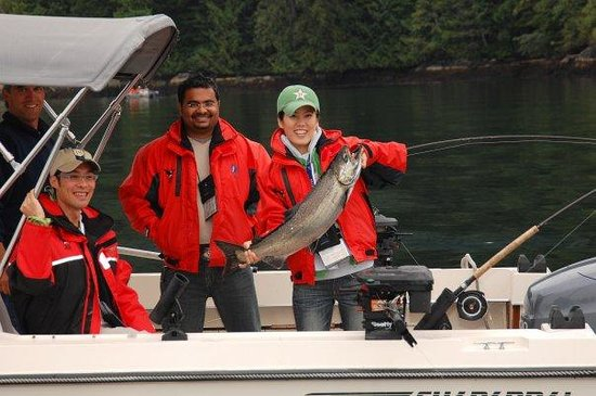 Isola di Sonora, Canada: Salmon fishing