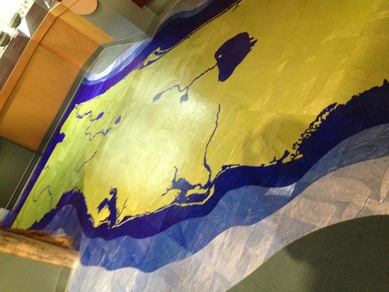 Museum of Florida History: Florida Map On The Floor
