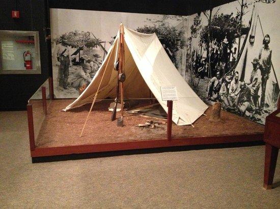 Museum of Florida History: Civil War Camp