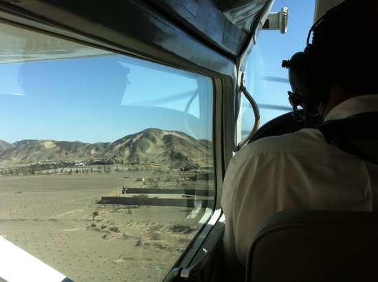 Mystery Peru: getting ready to fly over the nazca lines
