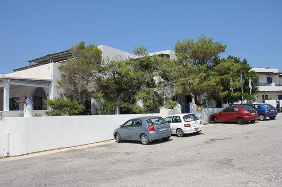 Vigla Hotel: Parking