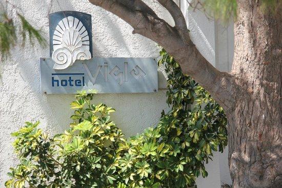 Vigla Hotel: Entrée