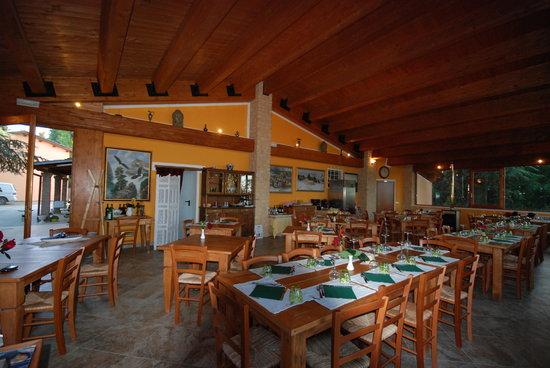 Agriturismo Monte Del Sol: sala ristorante Monte Del Sol