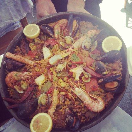 Restaurante Xaloc: Вкуснейшая Paella