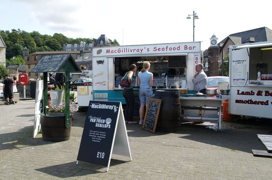 MacGillivray's Seafood: On the pier