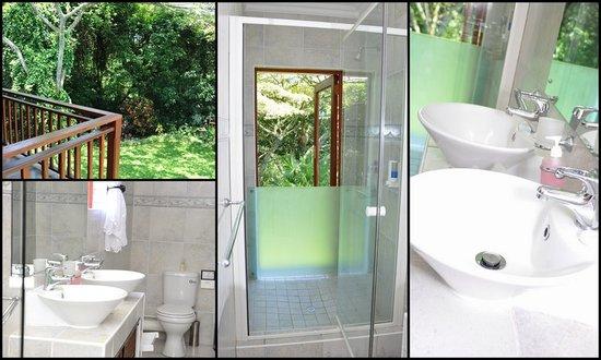 Birds of Paradise B&B: Bath room for room 1 & 2