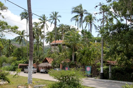 Villas del Palmar: View of the property, one block from La Ropa beach