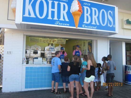 Kohr Bros : view from the boardwalk