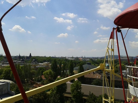 Vidam Park: View from the giant wheel
