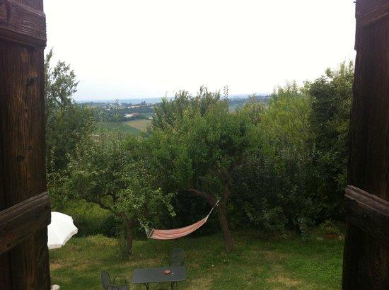 Cascina Rosa: Panorama dalla camera