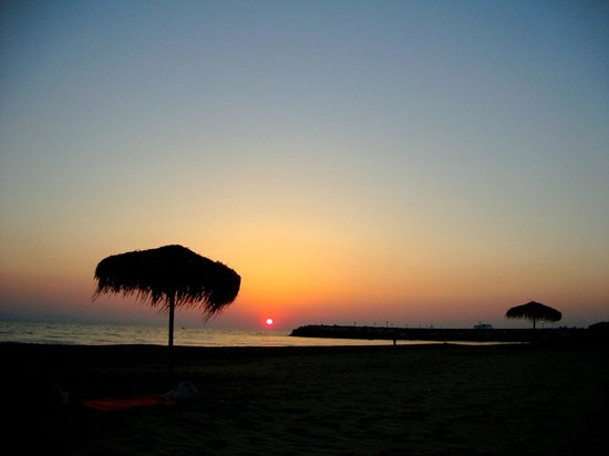 Camping Palouki: Ηλιοβασίλεμα