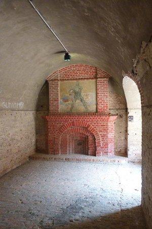Fort Napoleon : The famous WW1 era German mural