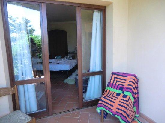 Hotel Al Parco: porta della camera