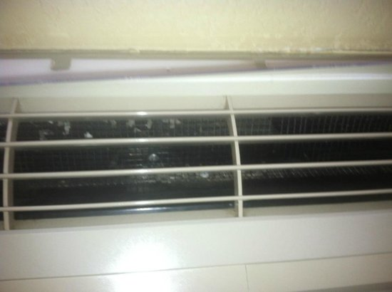 Quality Inn & Suites: the heater/ac in room with mold!!!     room 100