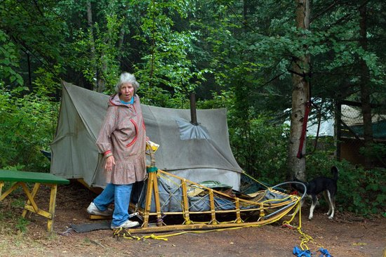 Alaskan Tails of the Trail with Mary Shields: Mary's vacation sled