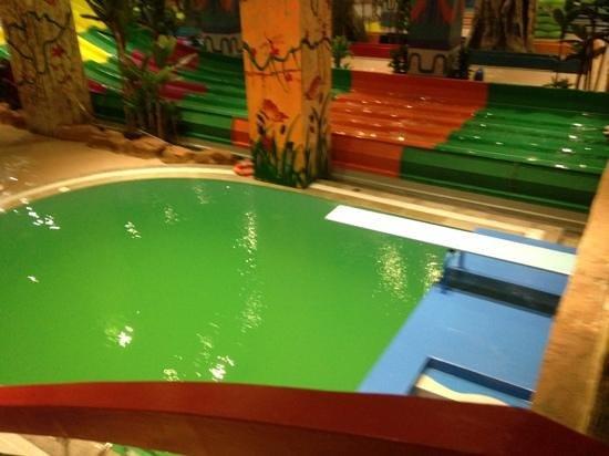 Vinpearl Land Water Park - Royal City: diving pool - very deep