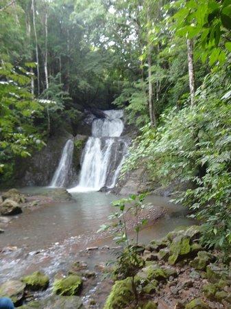 "Sandpiper Hotel : Tres Piscinas ""Three Pools"" Waterfalls"