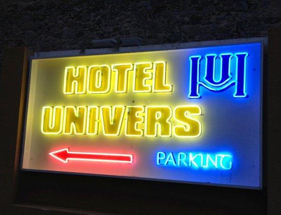 Univers Hotel : Hotel Univers, un lugar agradable.