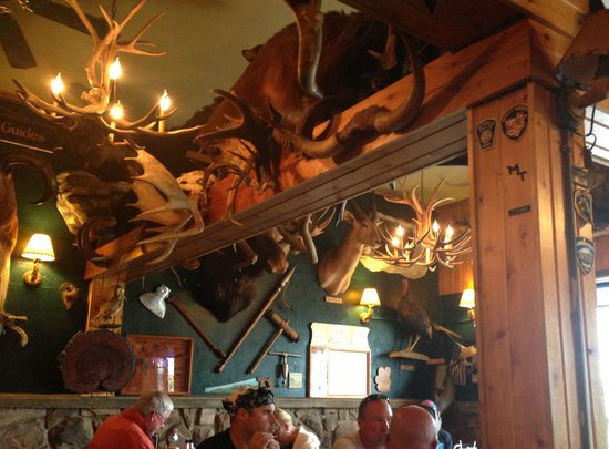 The Antlers Restaurant: Why it is caled The Antlers!