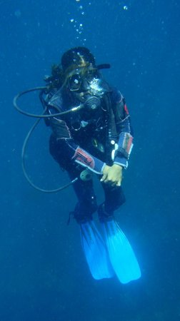 Thresher Shark Divers: Riza being awesome
