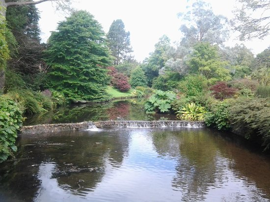 Mount Usher Gardens: sit and watch the world go by