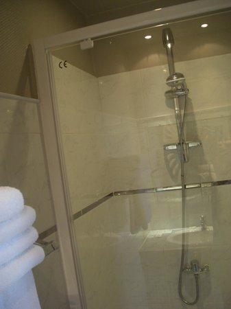 Hotel de L'Europe : シャワー室
