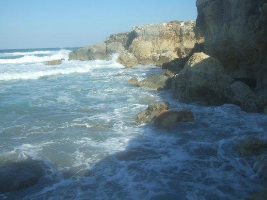 Bravo Daniela : il mare fra l'albergo e la spiagga dell'albergo