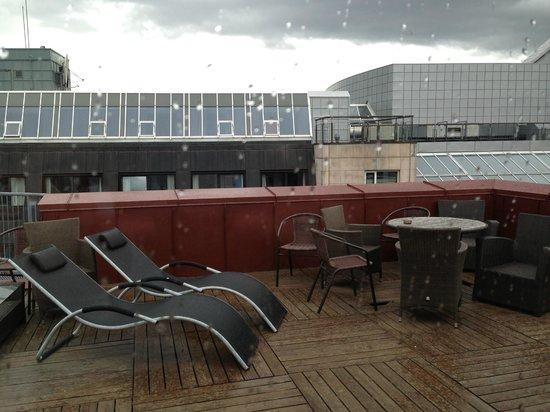 Clarion Collection Hotel Bakeriet : Uteplats på taket
