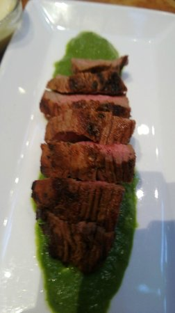Thirsty Bear Brewing Company: Fillet Steak with Basil sauce