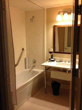 Sheraton Minneapolis Midtown Hotel: Bath area