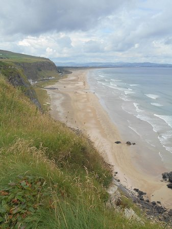 Mussenden Temple: view from temple