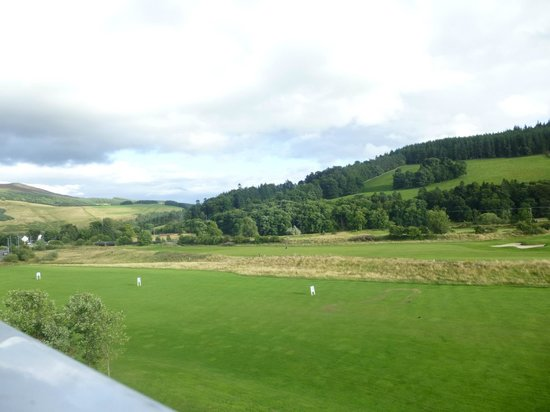 Macdonald Cardrona Hotel, Golf & Spa: view from the room
