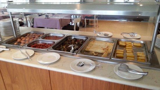 Hotel Korkyra: breakfast buffet