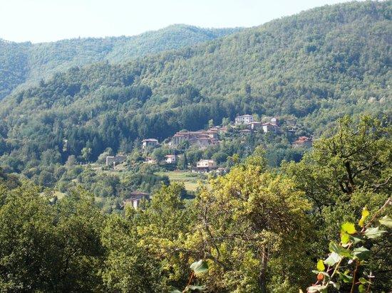 Holiday House Il Borgo dei Corsi: Da lontano..