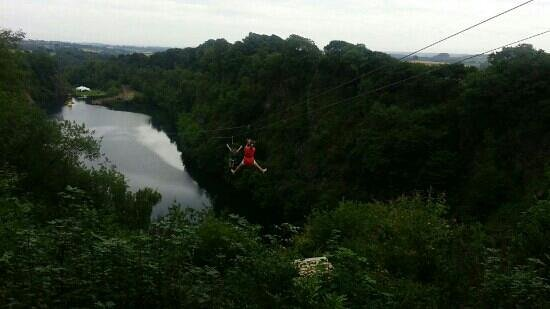 Adrenalin Quarry : 38 yr old mum or 9 yr old son....not sure who enjoyed it more!!