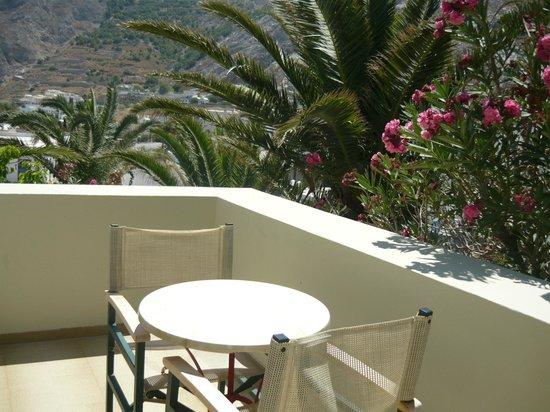 Hotel Zephyros : balcony