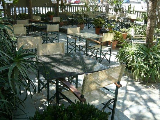 Hotel Zephyros : breakfast zone