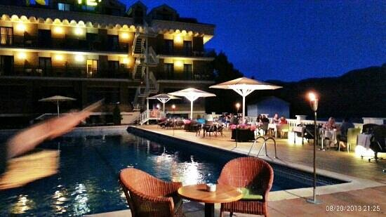 Hotel Terradets (cenas en la terraza)