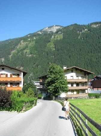 Mayrhofen: a  view