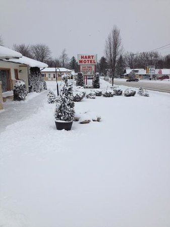 Hart Motel : winter wonderland :)