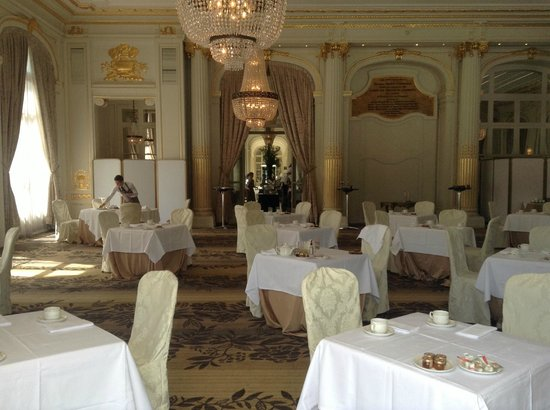 Salle à Manger Picture Of Waldorf Astoria Trianon Palace