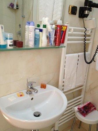Hotel Brignole: banyo