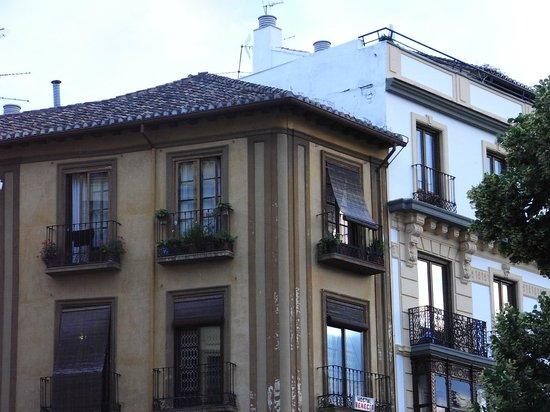 Pension Gomerez Gallegos on the top floor