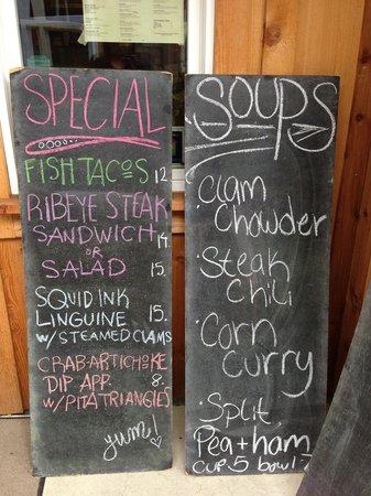 Seasons Cafe : Creative and tastey daily menus